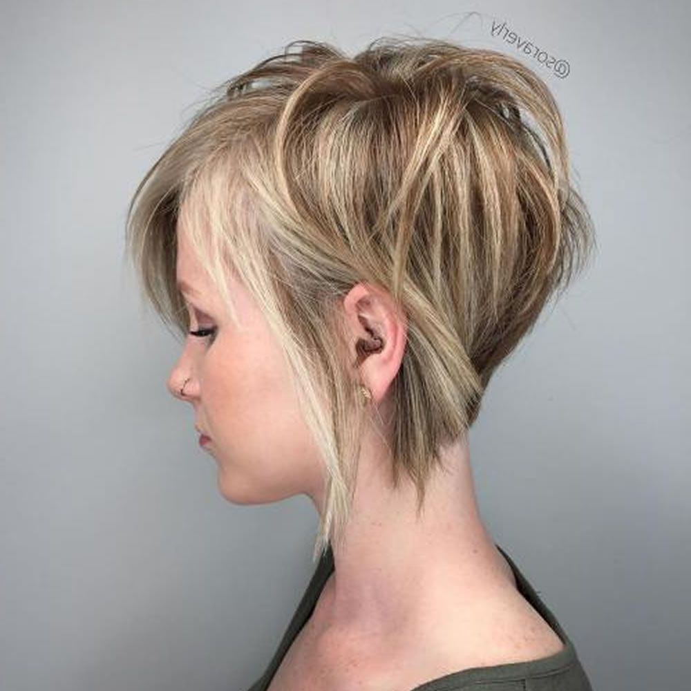 Short Layered Hairstyles 2018 For Women Who Love Short Hair (5 Inside Short Layered Hairstyles (View 12 of 20)