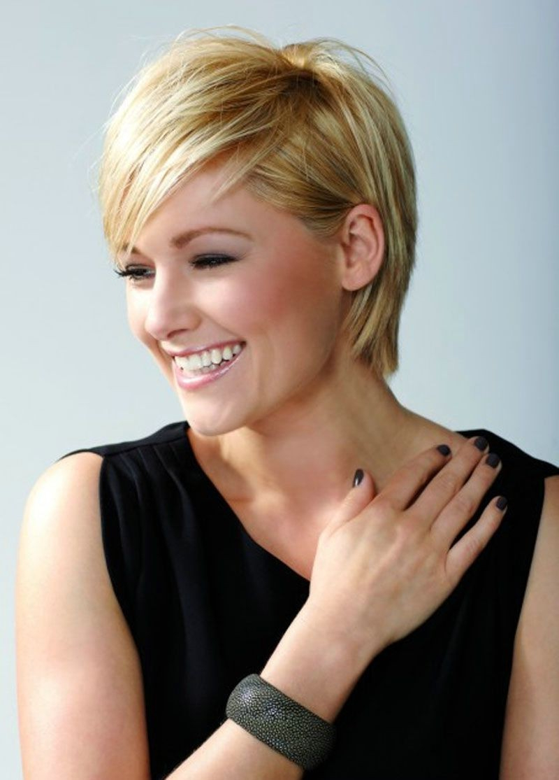 Short Layered Hairstyles For Thin Hair Inspirational 20 Short With Short Layered Hairstyles (View 15 of 20)