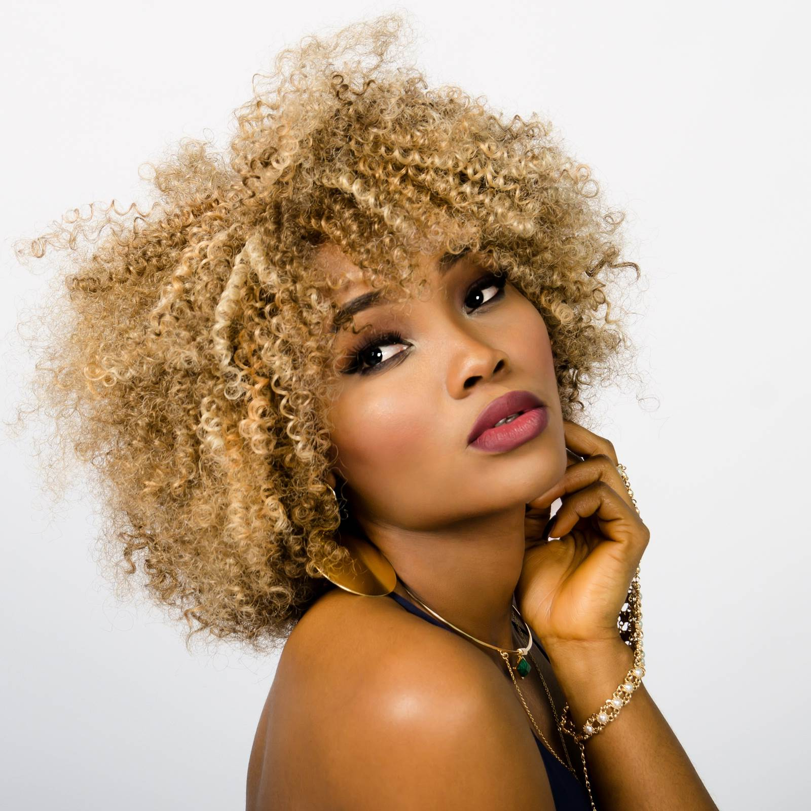 Short Natural Hairstyles | Natural Hairstyles For Short Hair With Blonde Bob Hairstyles With Tapered Side (View 17 of 20)