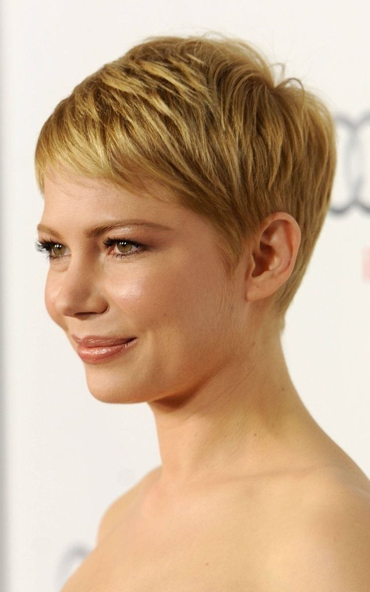 Short Pixie Haircuts For Thick Hair – Short And Cuts Hairstyles With Pixie Haircuts With Short Thick Hair (Gallery 4 of 20)