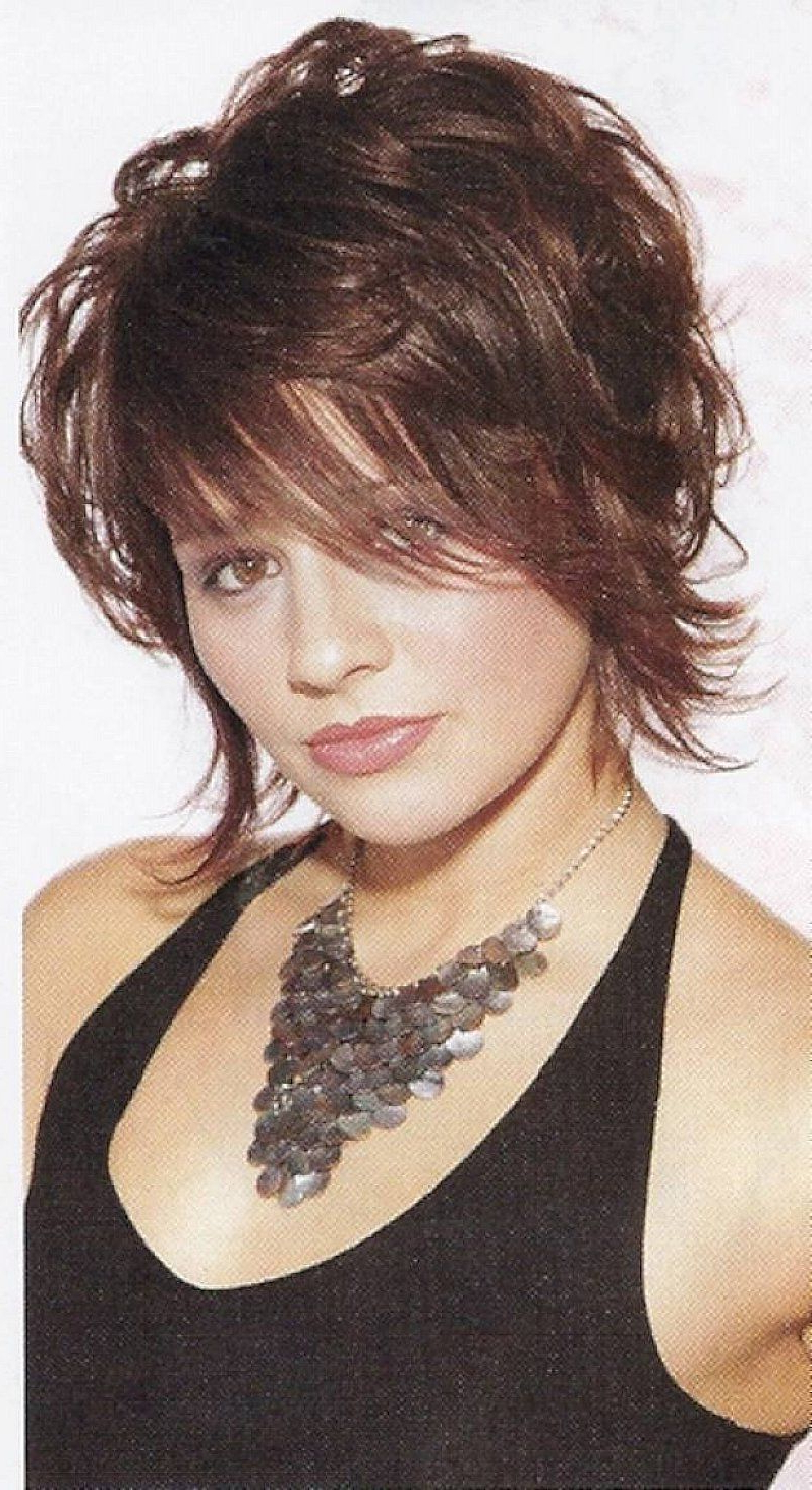 Short Sassy Haircuts For Wavy Hair With Messy Style | Possible Intended For Short Wavy Haircuts With Messy Layers (Gallery 9 of 20)