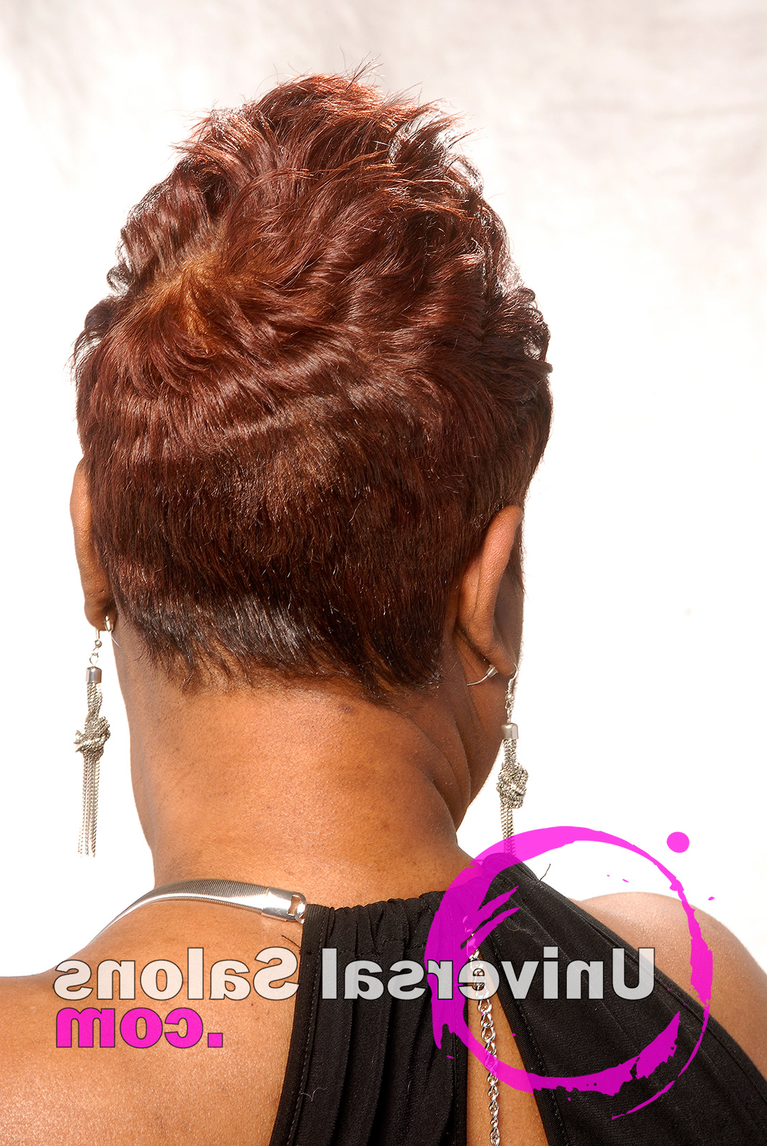 Short Spiked Hair Cut For Black Women From Dre' Ramseur Intended For Short Spiked Haircuts (View 10 of 20)