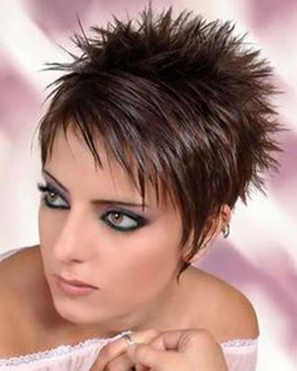 Short Spikey Hairstyles – Leymatson Inside Short Spiked Haircuts (View 12 of 20)