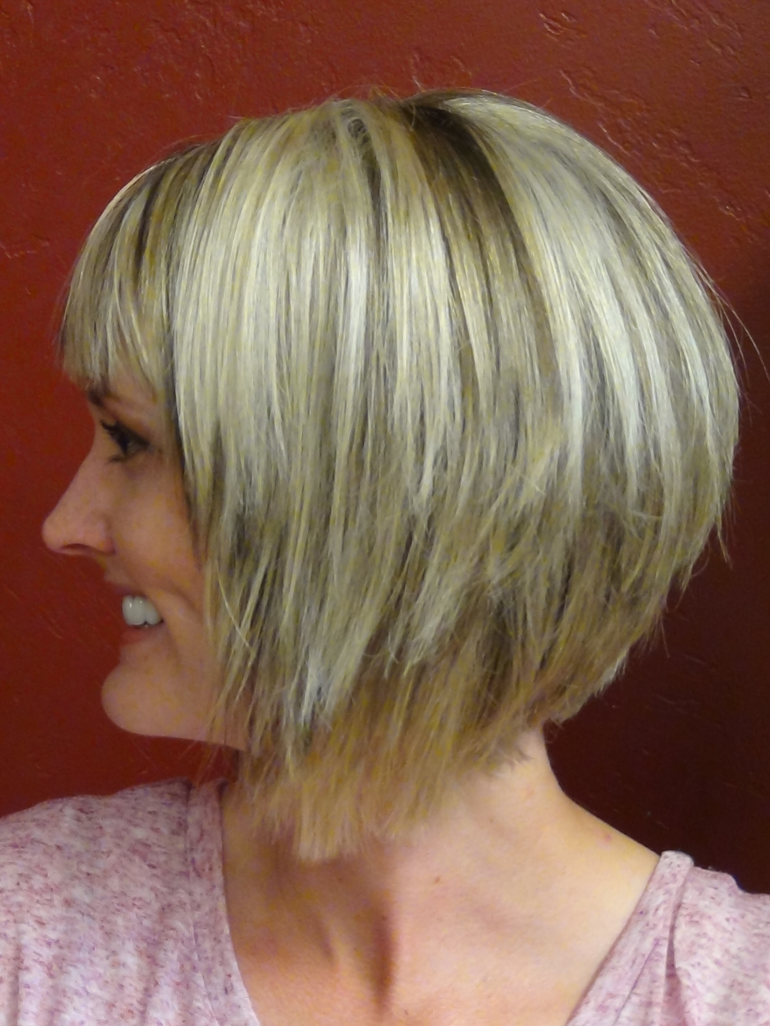 Short Stacked And Short Straight Hairstyles | Boys And (Girls For Two Tone Stacked Pixie Bob Haircuts (Gallery 16 of 20)