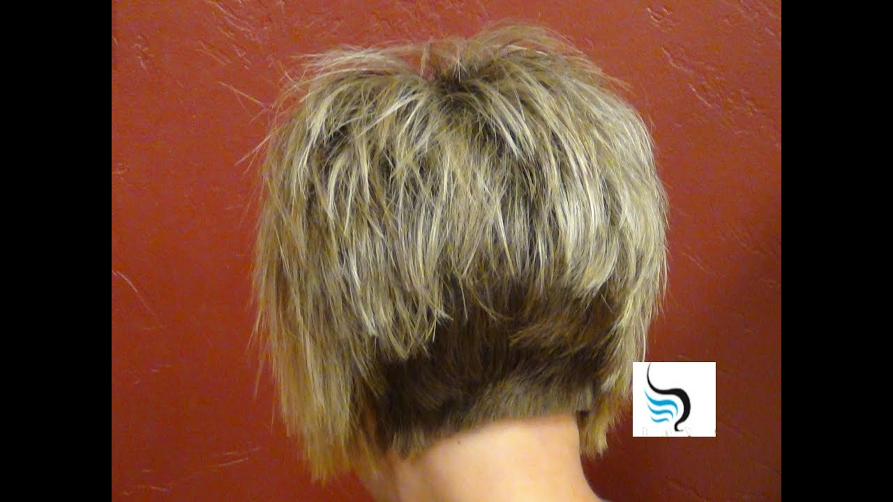 Short Stacked And Short Straight Hairstyles (Our Most Liked Haircuts For Messy Pixie Haircuts With V Cut Layers (Gallery 20 of 20)