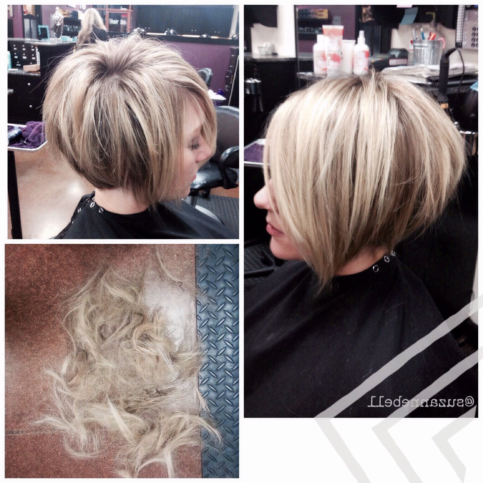 20 Collection Of Two Tone Stacked Pixie Bob Haircuts