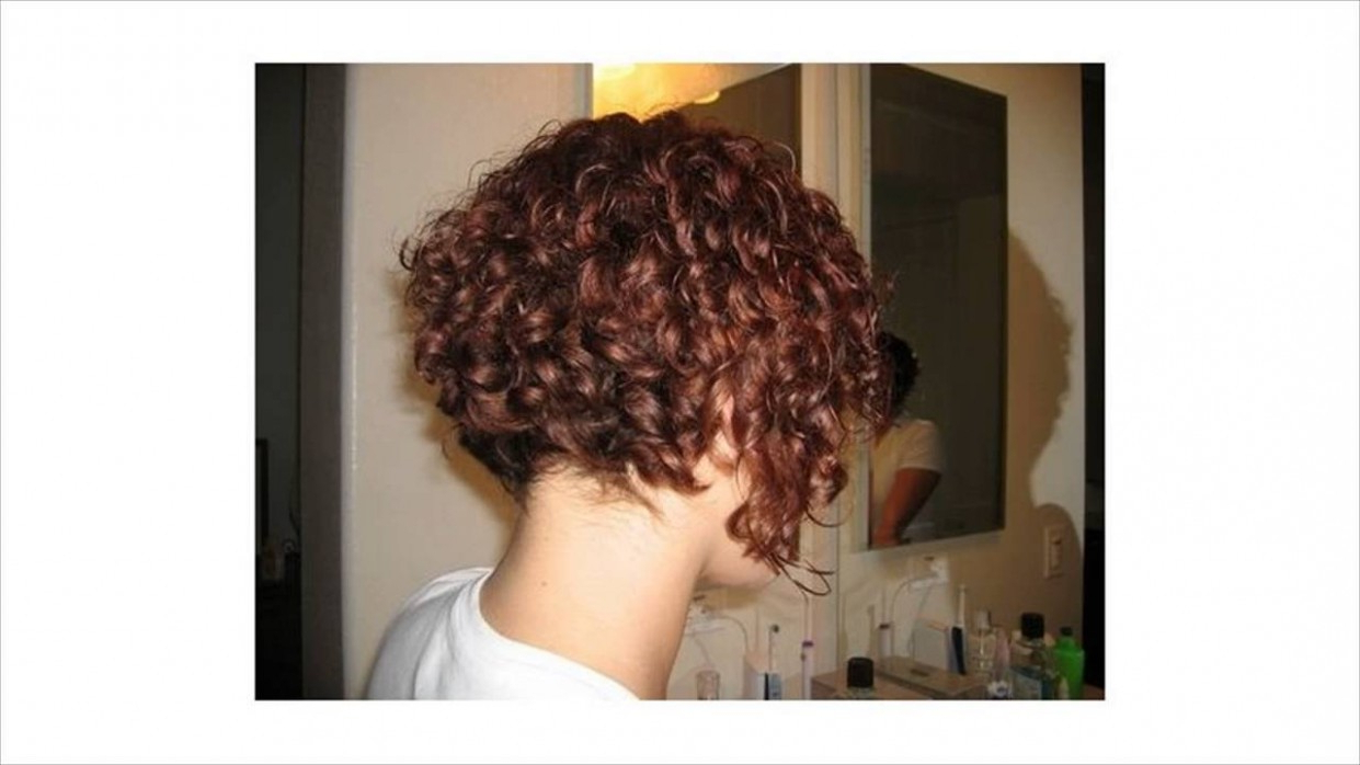 Short Stacked Haircut For Curly Hair Archives – Pielestonala In Stacked Curly Bob Hairstyles (View 17 of 20)