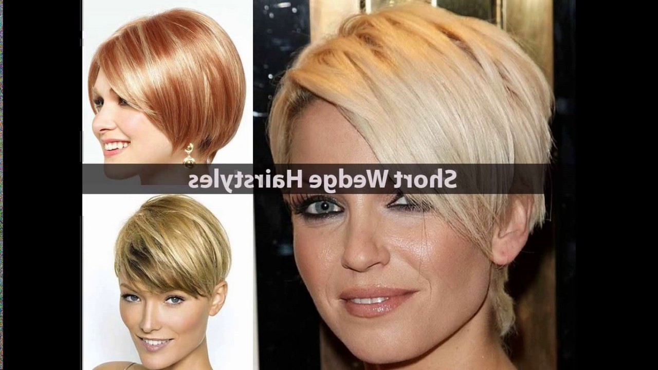 Short Stacked Haircuts For Thin Hair – Youtube For Sleek Bob Hairstyles For Thin Hair (Gallery 17 of 20)