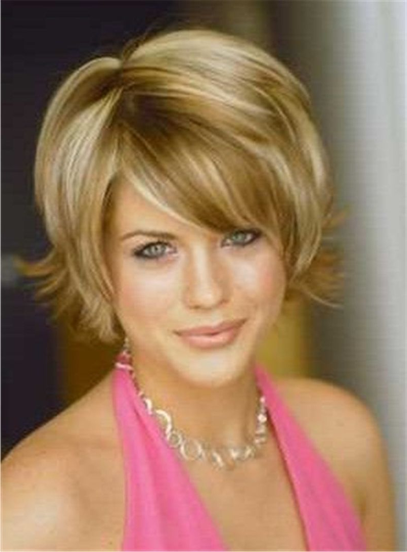 Short Straight Bob Hairstyle Lace Front Human Hair Wig 10 Inches Inside Short Straight Bob Hairstyles (View 19 of 20)