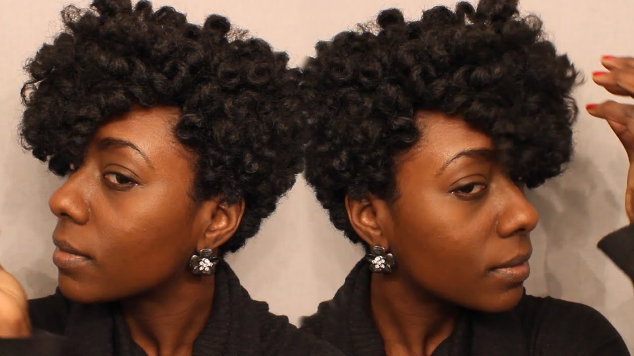 Short Tapered Crochet Wig Tutorial – Youtube Within Soft Curly Tapered Pixie Hairstyles (Gallery 15 of 20)