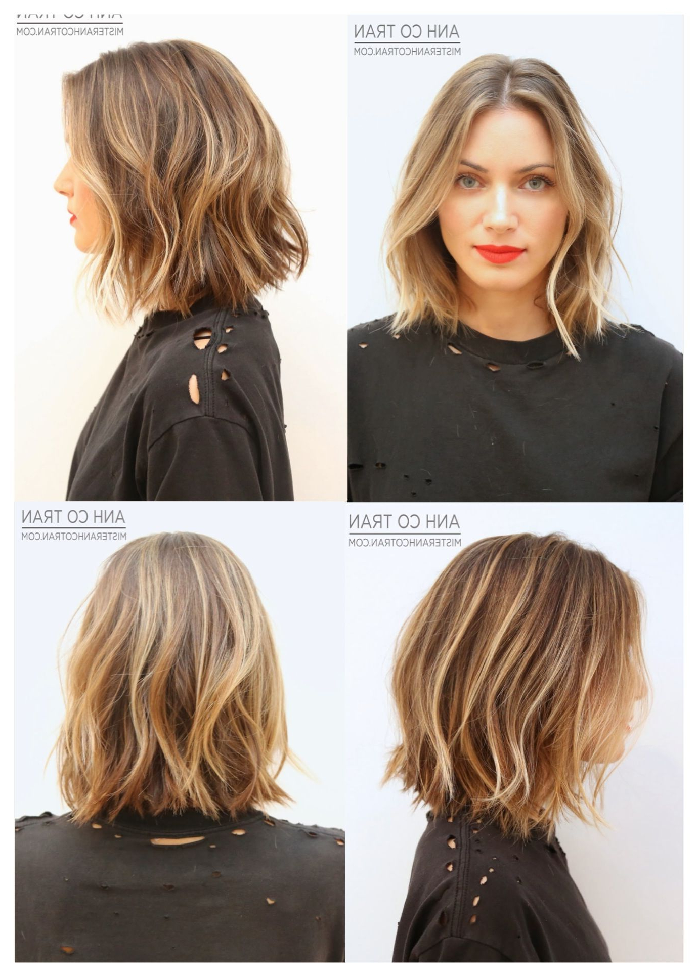 Short Tousled Hair. Most Like My Hair Texture, But I Want A Longer With Tousled Wavy Bob Haircuts (Gallery 6 of 20)