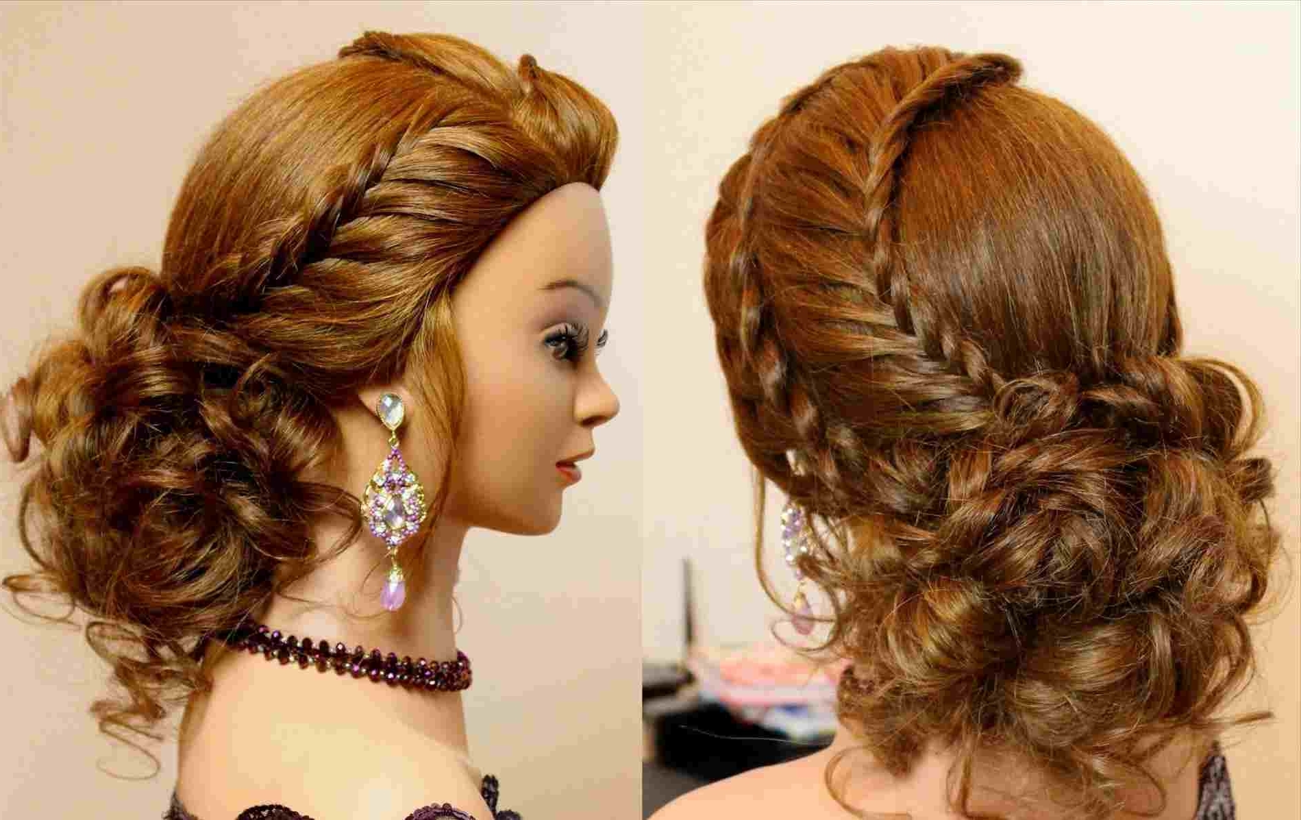 Side Hairdos Updo For Or Weddings D Youtuberhyoutubecom Hot Ponytail For Well Liked Romantic Ponytail Hairstyles (View 15 of 20)