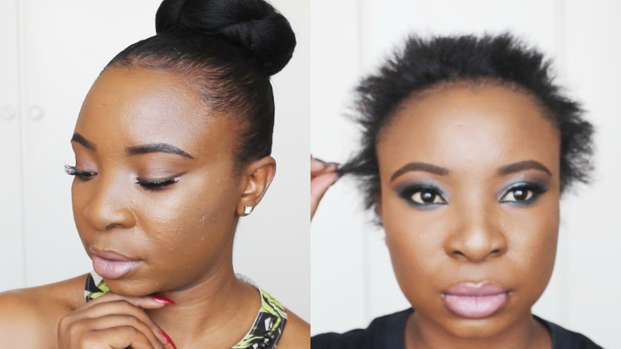 Sleek Bun On Short Hair – Youtube Intended For Shorter Black Messy Hairstyles (View 18 of 20)