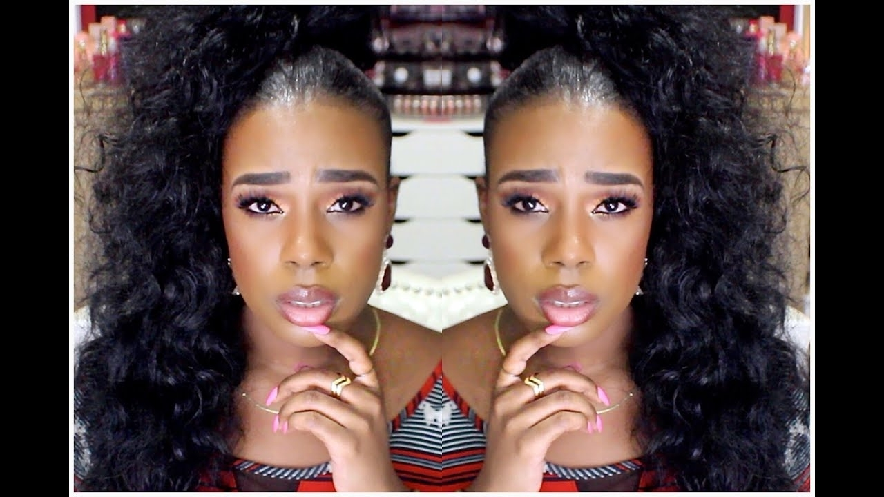 Sleek High Curly Ponytail Tutorial (View 17 of 20)