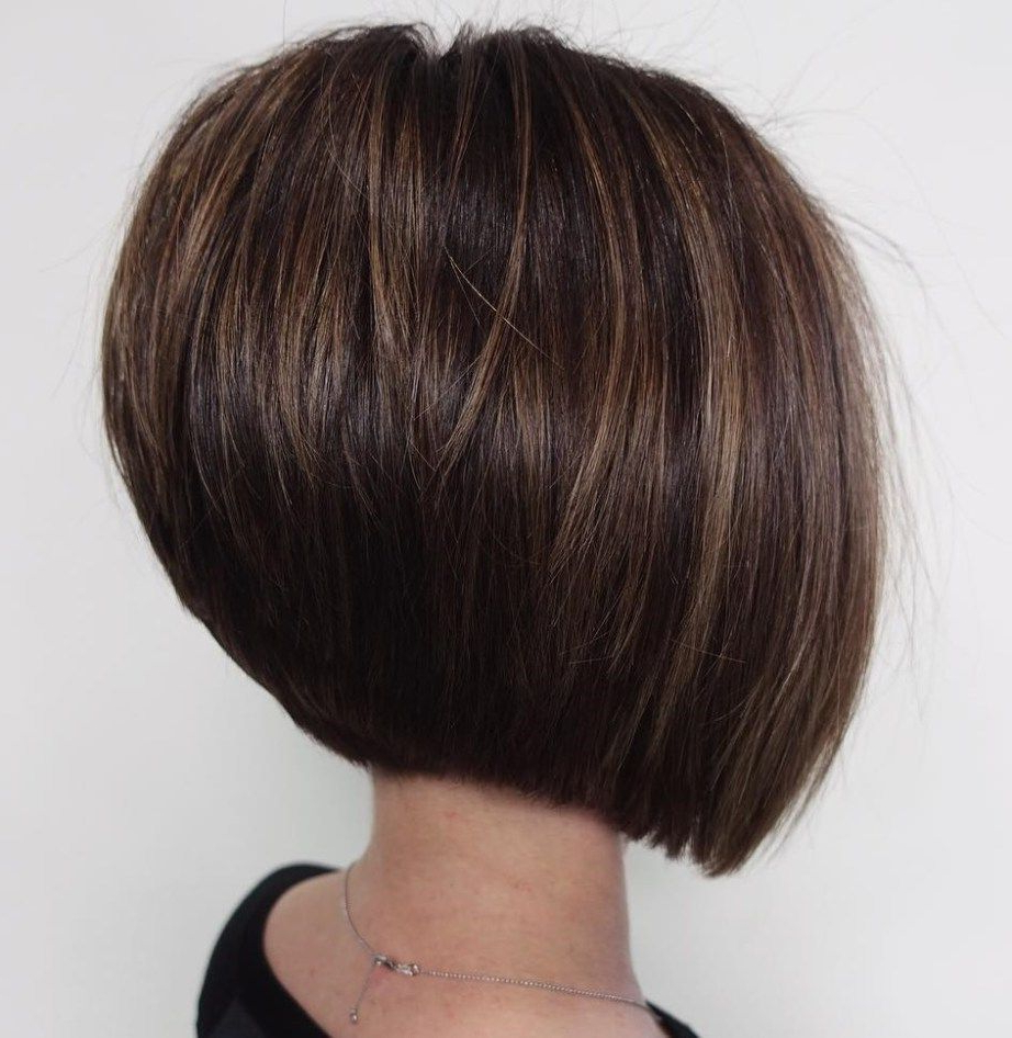 Featured Photo of Sleek Rounded Inverted Bob Hairstyles