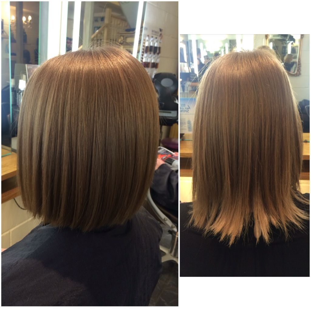 So Many Restyles At The Moment. Wearing A One Length Bob Straight Throughout Dark Blonde Rounded Jaw Length Bob Haircuts (Gallery 18 of 20)
