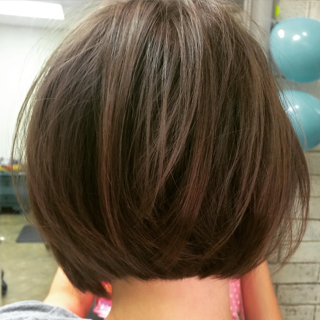 Soft Laying Undercut Textured Bob ~ #razorcut #finehair #texture Cut With Regard To Smooth Bob Hairstyles For Thick Hair (View 7 of 20)