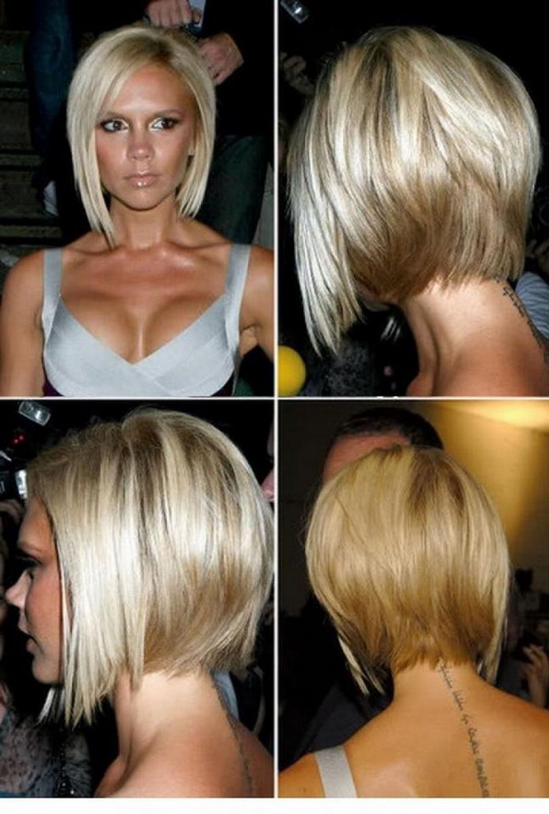 Stacked Bob Hairstyles Front Back | Angled Bob Hairstyles Front And For Angled Bob Hairstyles (Gallery 12 of 20)
