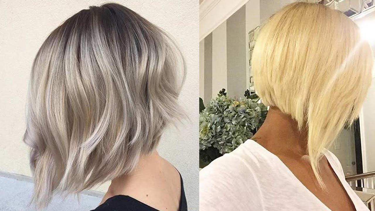 Stylish Inverted Bob Haircut For Women You Should Try!!! – Youtube Within Angled Bob Hairstyles (View 16 of 20)