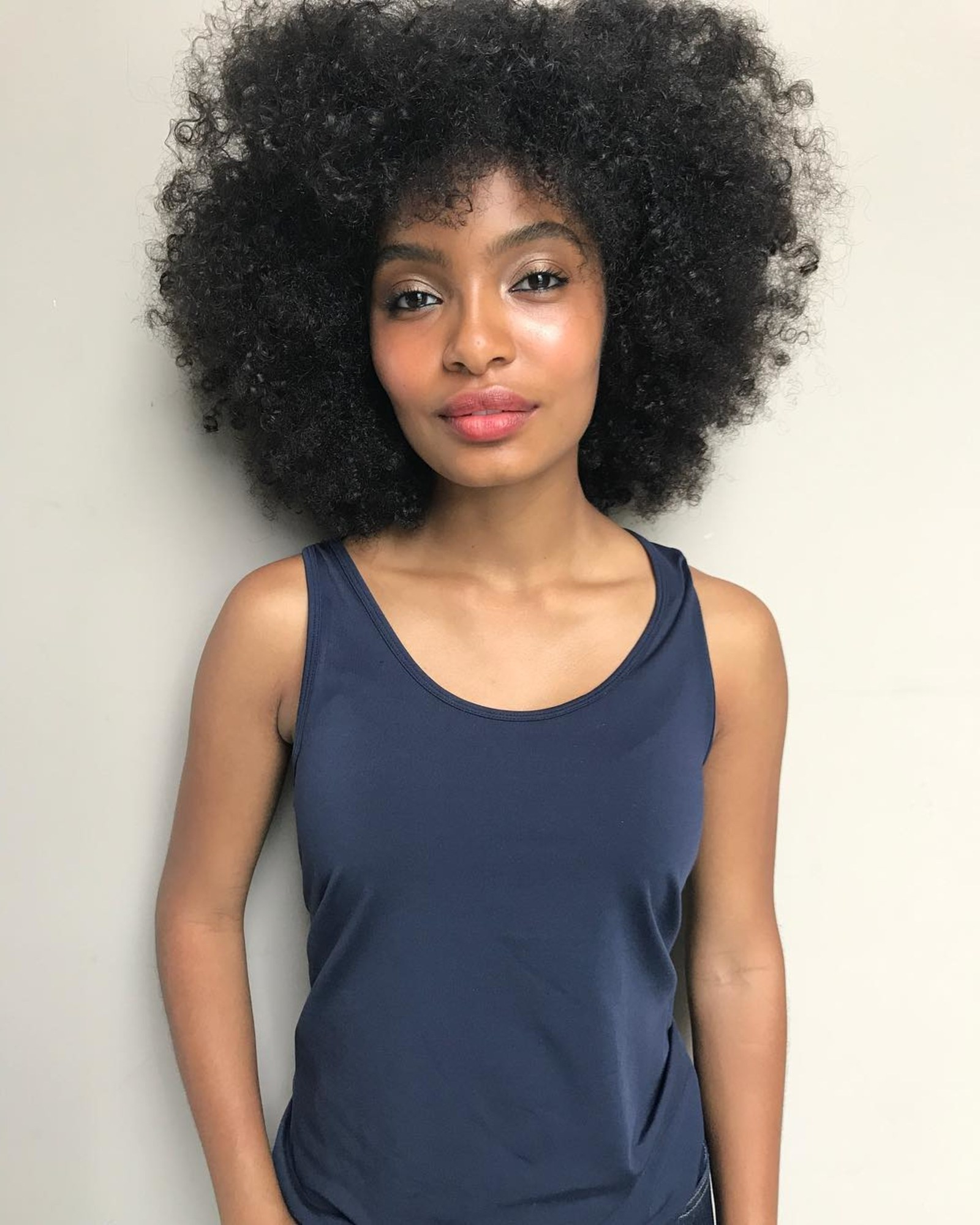 Photo Gallery of Short Black Hairstyles With Tousled Curls ...