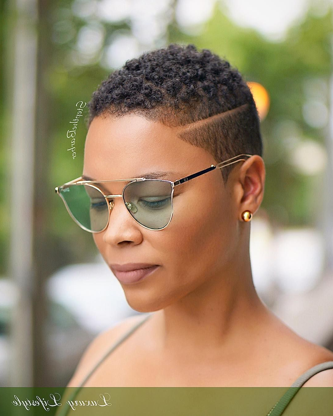 Tapered Haircut With A Disconnected Side Part (View 20 of 20)