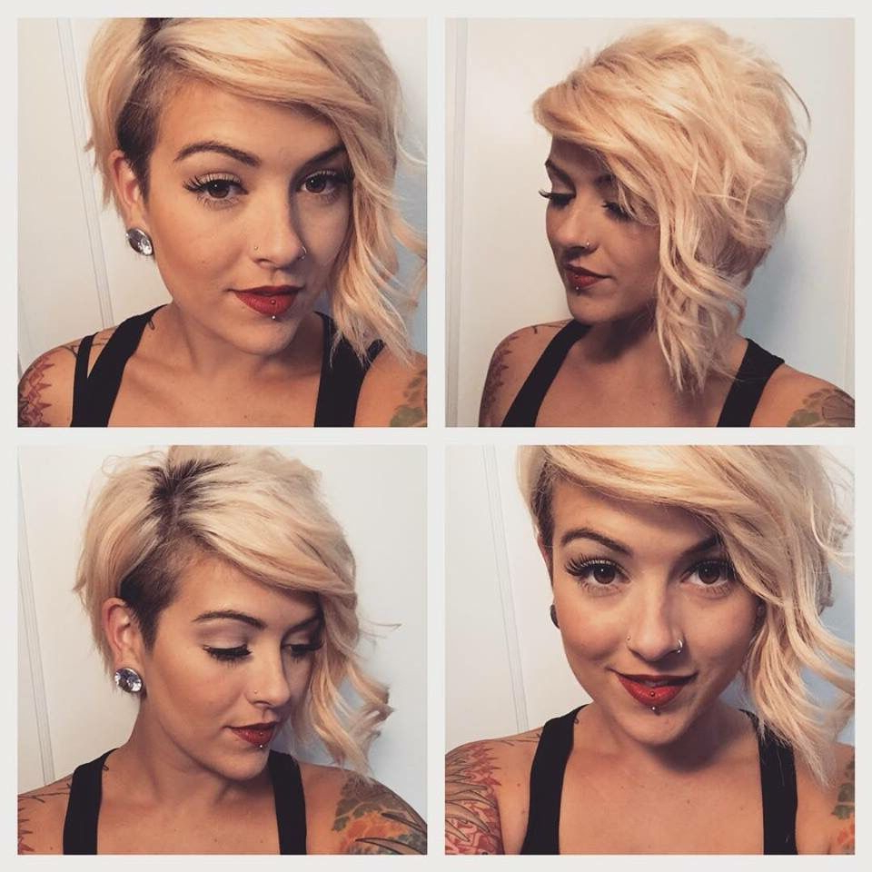 That Haircut Though One Day May Be Lol | Lovely Locks | Pinterest Regarding Sweeping Pixie Hairstyles With Undercut (View 13 of 20)