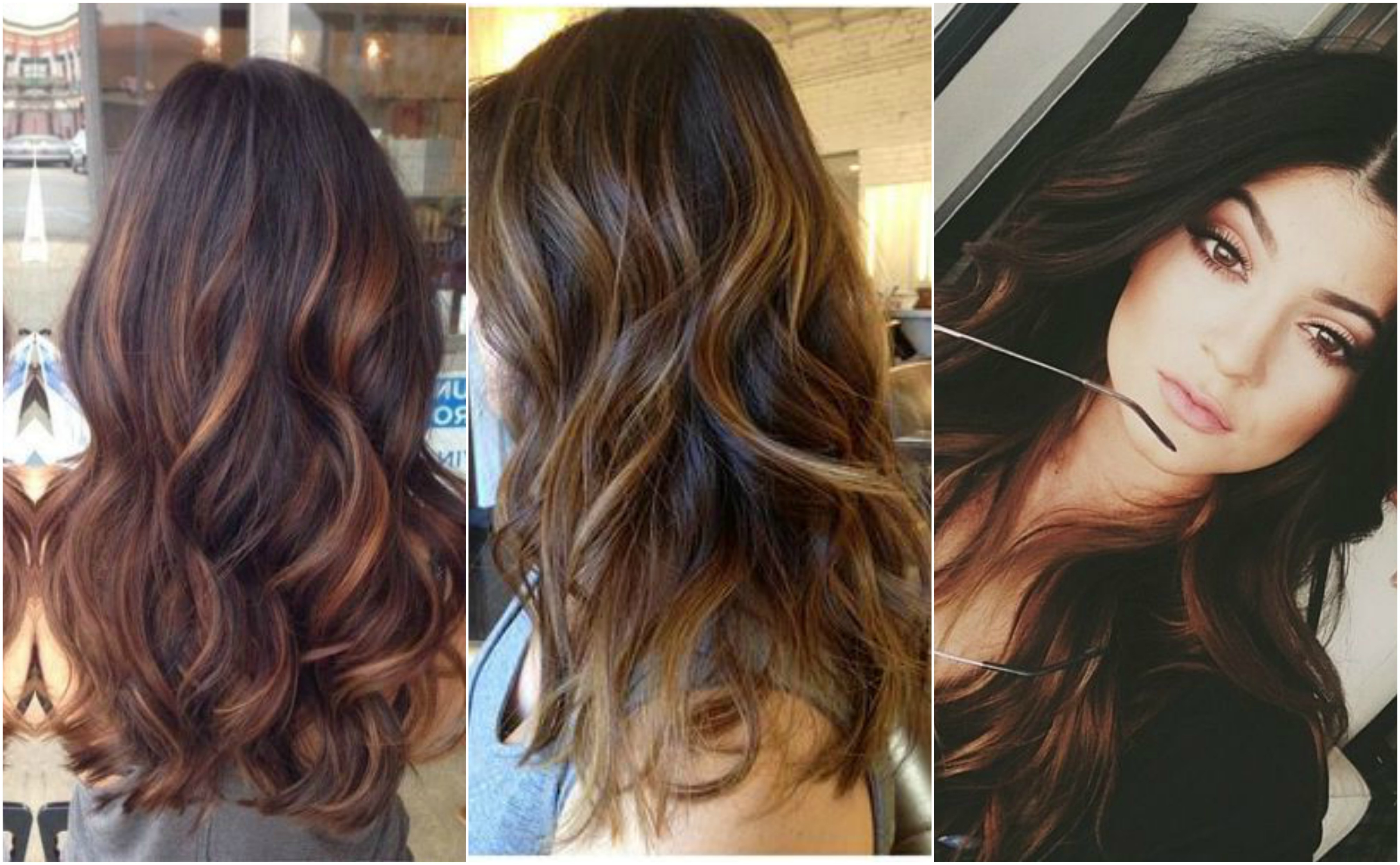 The 9 Best Ways To Highlight Your Hair Using The Balayage Technique For Brown Curly Hairstyles With Highlights (View 20 of 20)