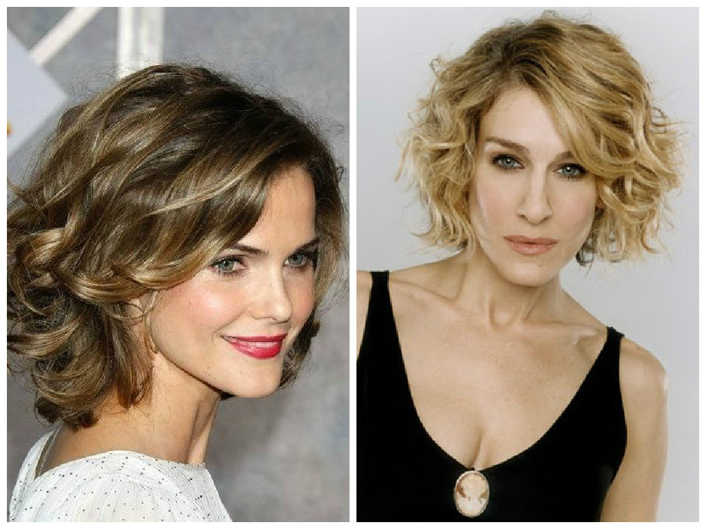 The Best Bob Haircut For Curly Hair – Hair World Magazine In Angled Brunette Bob Hairstyles With Messy Curls (View 16 of 20)