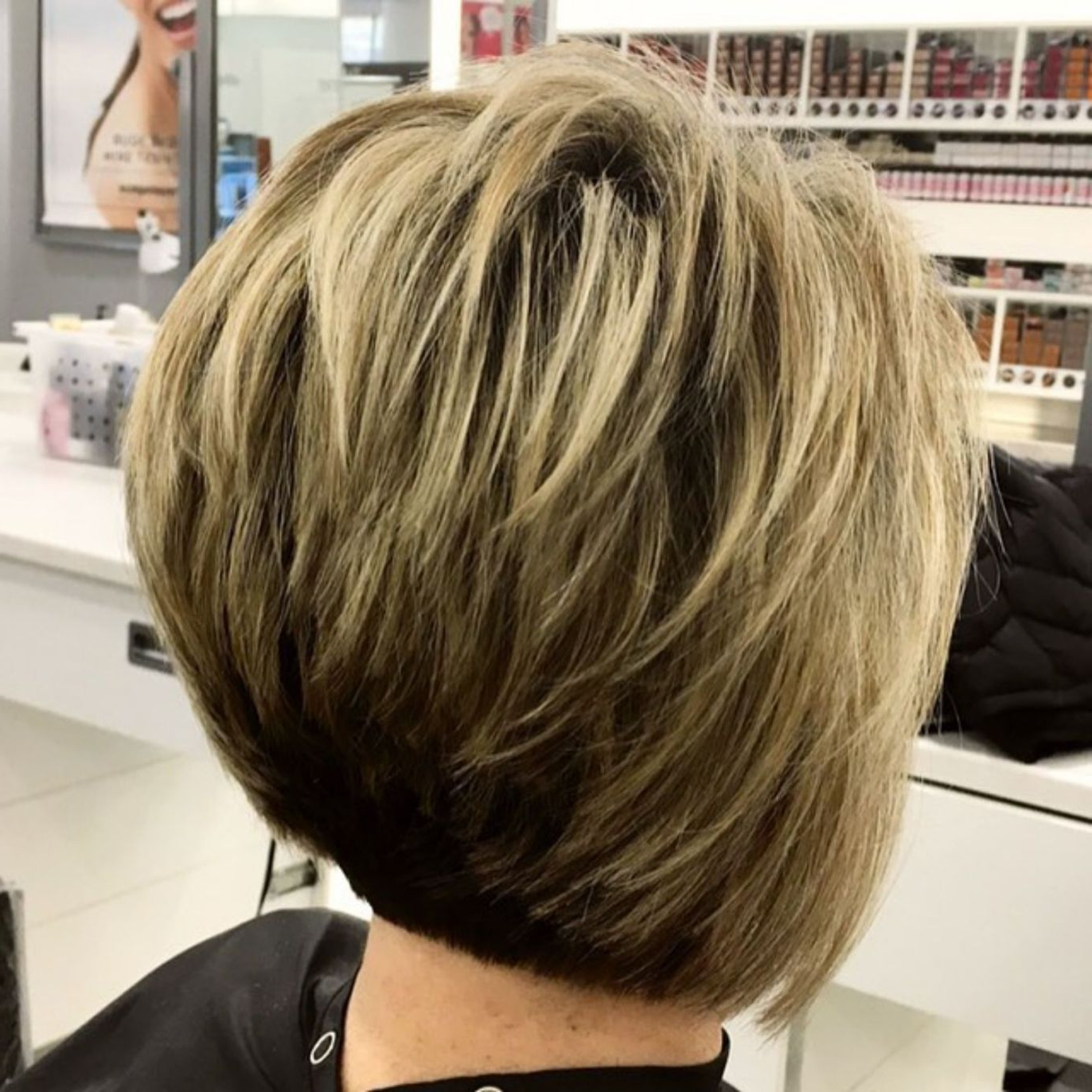 Photo Gallery Of Two Tone Stacked Pixie Bob Haircuts Viewing 9 Of