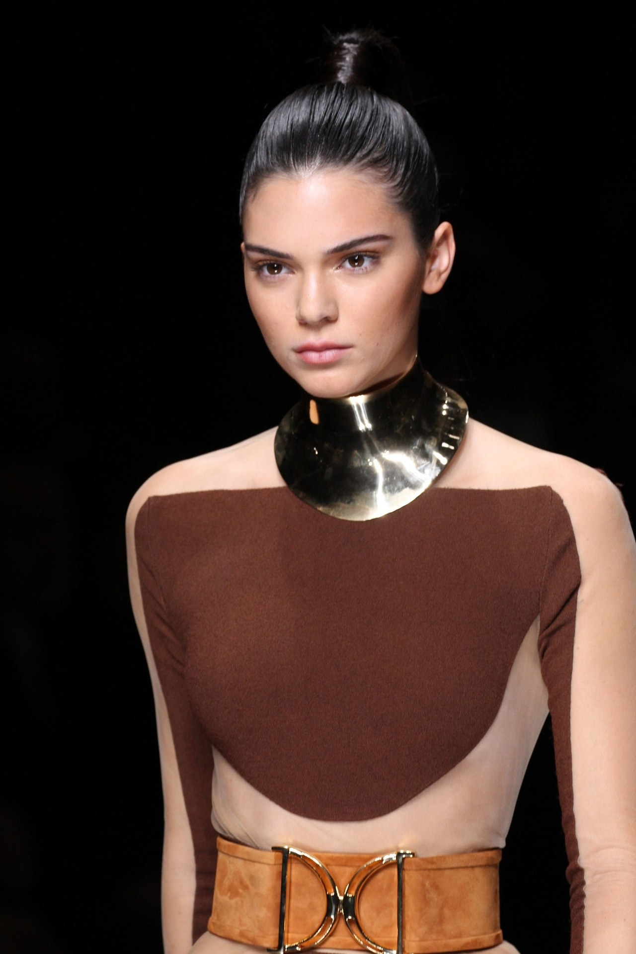 The High Ponytails At The Balmain Spring 2016 Show Will Rock Your In Most Current Wrapped High Ponytails (View 2 of 20)