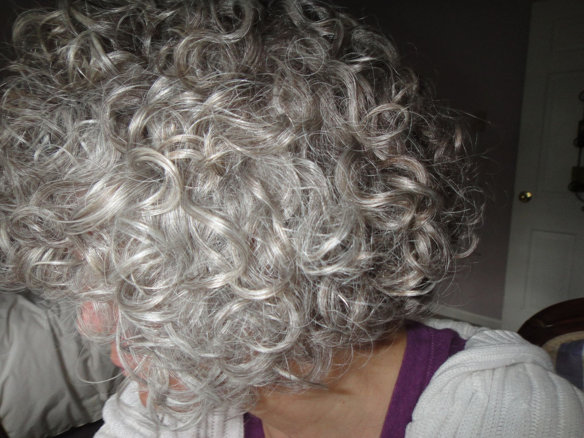 The Only Thing Better Than Gray Hair Is Curly Gray Hair! Me In A Pertaining To Curly Grayhairstyles (View 18 of 20)