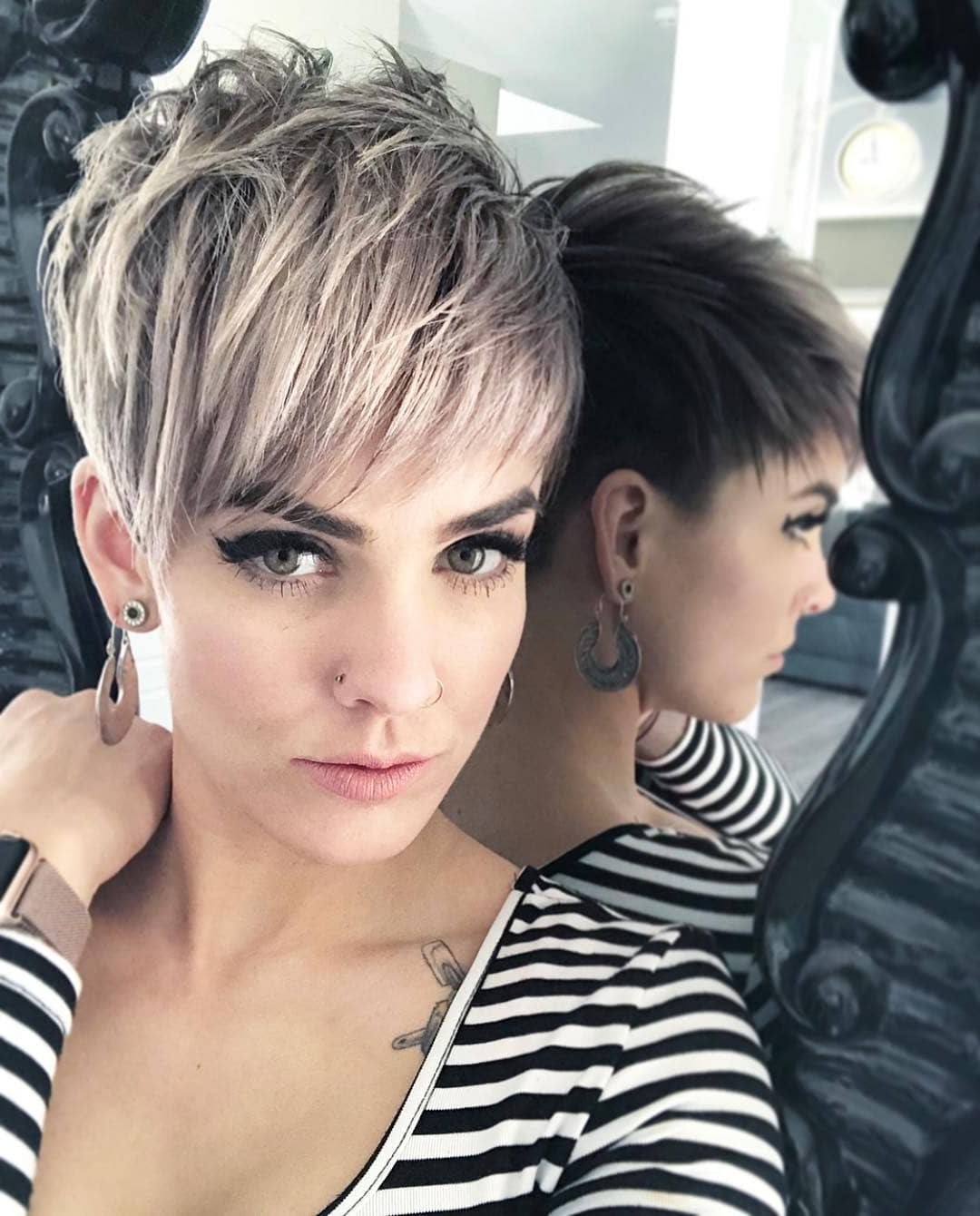 Top 10 Most Flattering Pixie Haircuts For Women, Short Hair Styles 2019 Within Edgy Pixie Haircuts With Long Angled Layers (View 18 of 20)