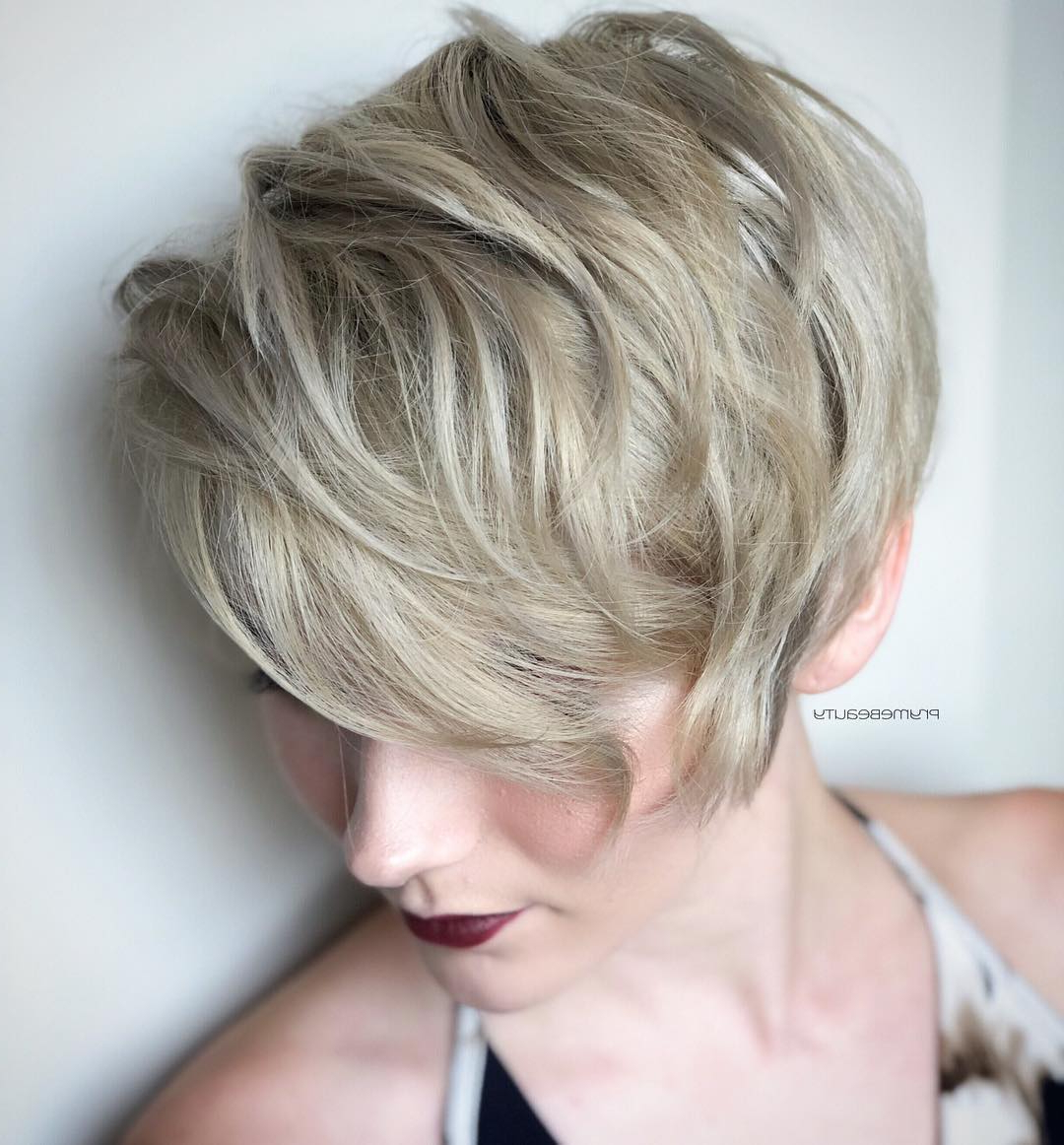 Top 10 Trendy, Low Maintenance Short Layered Hairstyles For 2018 2019 Pertaining To Short Layered Hairstyles (View 19 of 20)