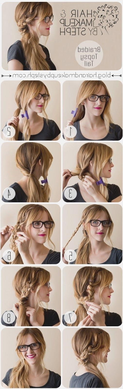 Topsy Tail Hair Styles Regarding Newest Messy Side Ponytails (View 19 of 20)