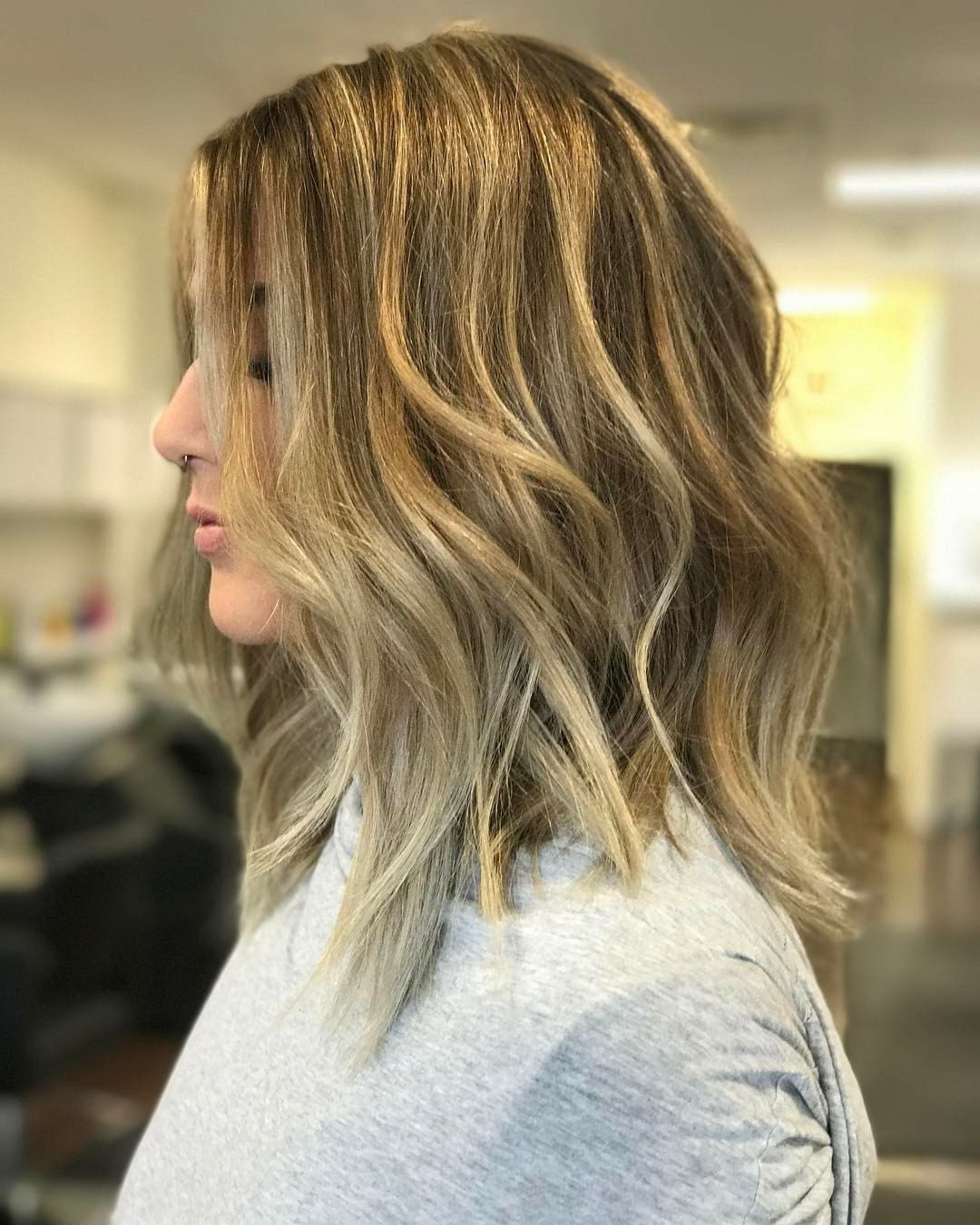 Photo Gallery Of Tousled Beach Bob Hairstyles Viewing 17 Of 20 Photos