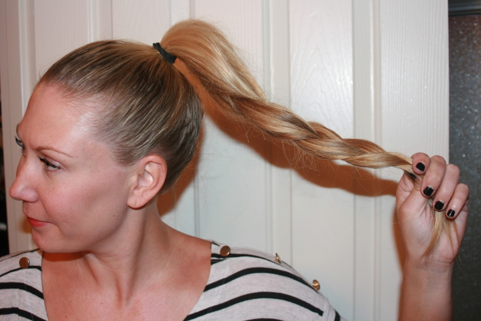 Trendy Braid And Bun Ponytail Hairstyles Intended For Waking Up To This: Hair Tutorial: Braided Bun (View 15 of 20)