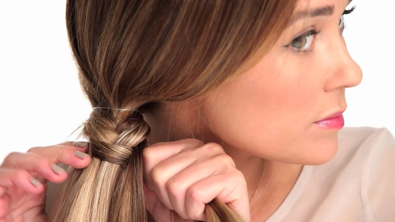 Trendy Fabulous Fishtail Side Pony Hairstyles Within The Fishtail Braid – Youtube (View 16 of 20)