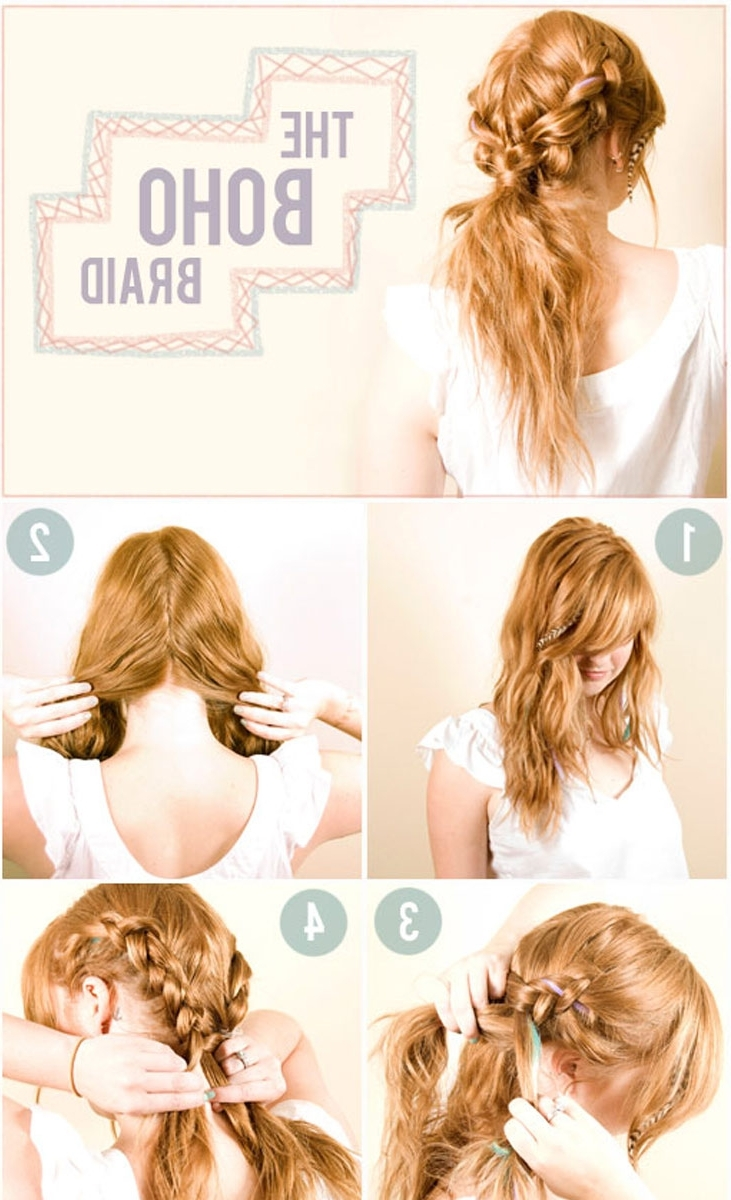 Trendy Reverse Braid And Side Ponytail Hairstyles Pertaining To 21 Braids For Long Hair That You'll Love! (View 16 of 20)