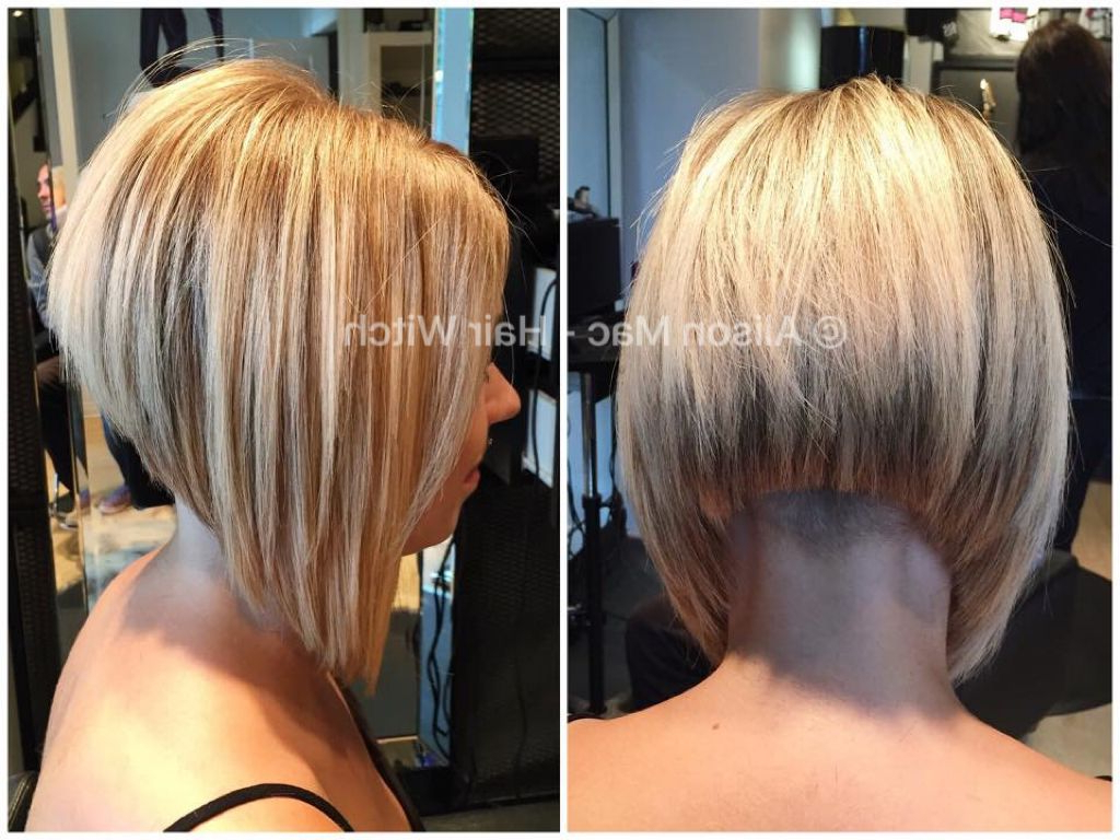 Undercut A Line Bob | Short Bob Haircuts In 2018 | Pinterest | A With Regard To A Line Amber Bob Haircuts (View 12 of 20)