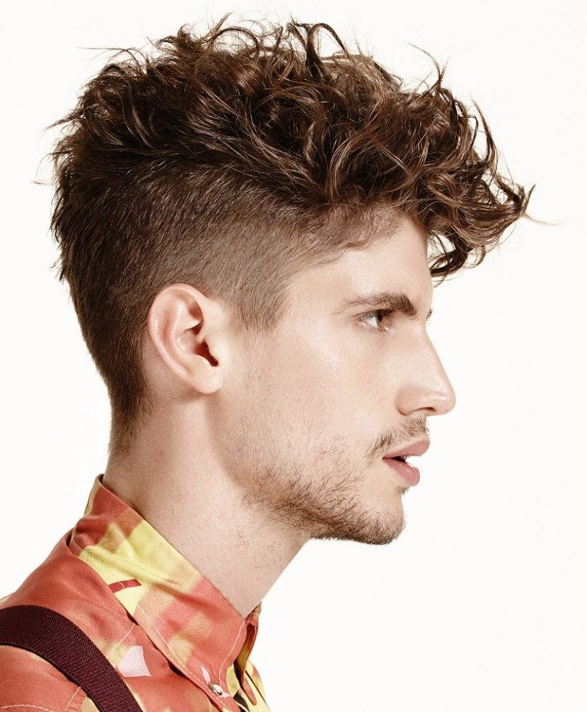 Undercut Hairstyle For Thick Curly Hair Menshairstyletrends With Undercut Hairstyles For Curly Hair (View 19 of 20)