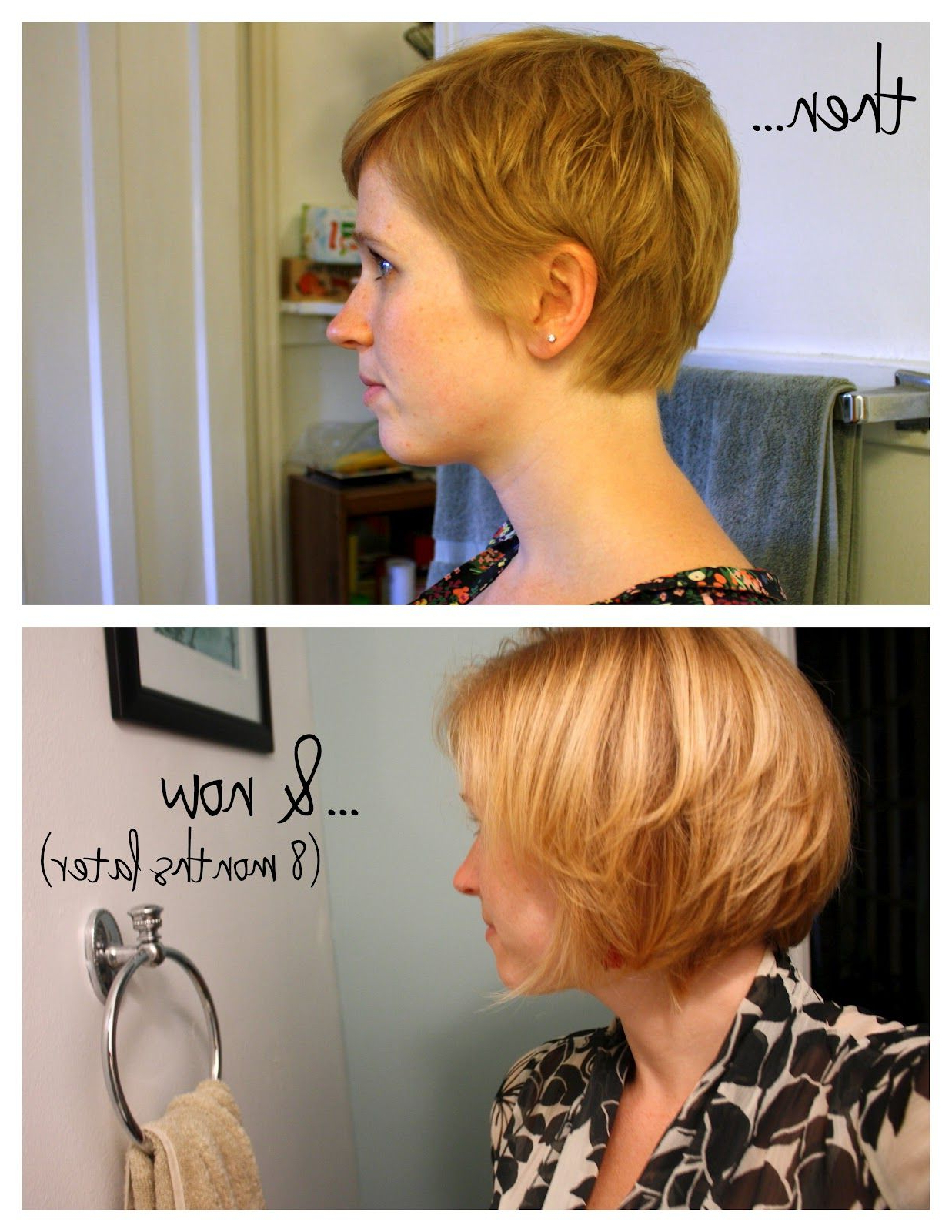 Unspeakable Visions: The Pixie Cut Series: An Update | Hair/beauty Regarding Stylish Grown Out Pixie Hairstyles (Gallery 6 of 20)