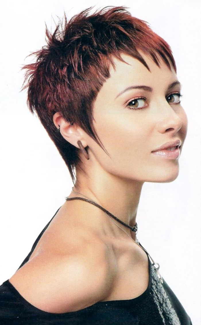 Very Short Hairstyles For Fine Hair | Women's Short Hairstyles For Edgy Pixie Haircuts For Fine Hair (Gallery 12 of 20)