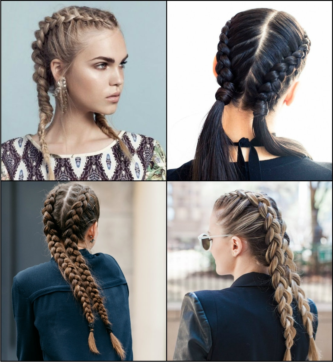 Volitional Double Braids Hairstyles To Dare Look Different Within Most Recently Released Blonde Ponytails With Double Braid (View 15 of 20)