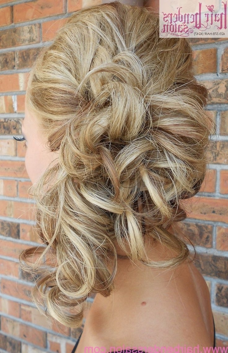 Wedding Hairstyles Side Curls Pictures Haircuts 5 Hairstyles For Latest Perfectly Imperfect Side Ponytail Hairstyles (View 20 of 20)