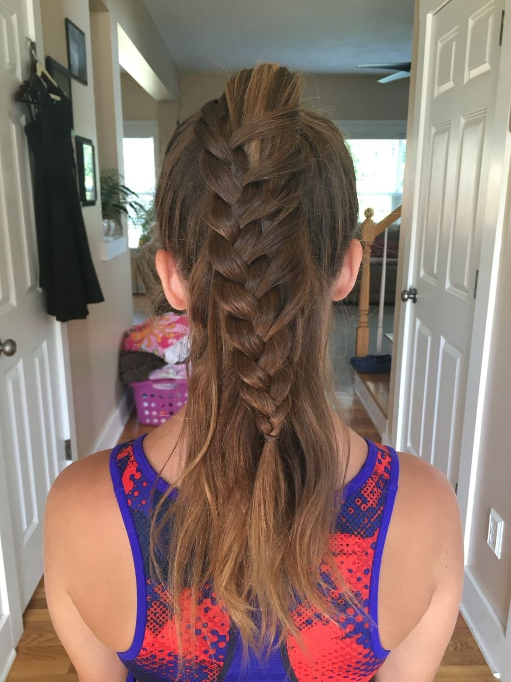 Well Known Artistically Undone Braid Ponytail Hairstyles In Cute Girls Hairstyles Inspired Lace Braid Ponytail (View 9 of 20)
