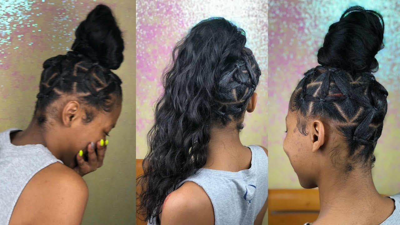Well Known Criss Cross Side Ponytails In India Love Inspired Rubber Band Ponytail (View 18 of 20)