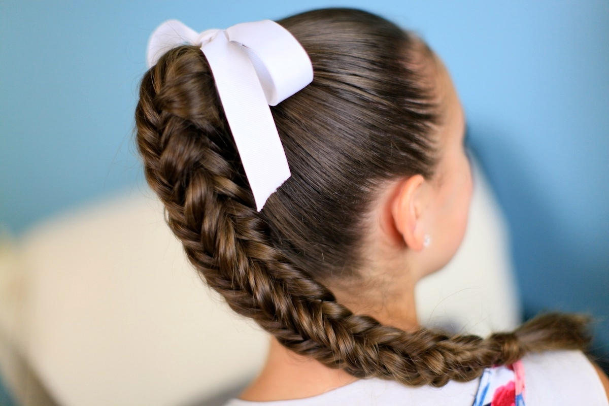Well Known Fishtail Braid Ponytails Intended For Box {4 Sided} Fishtail Braid (View 11 of 20)