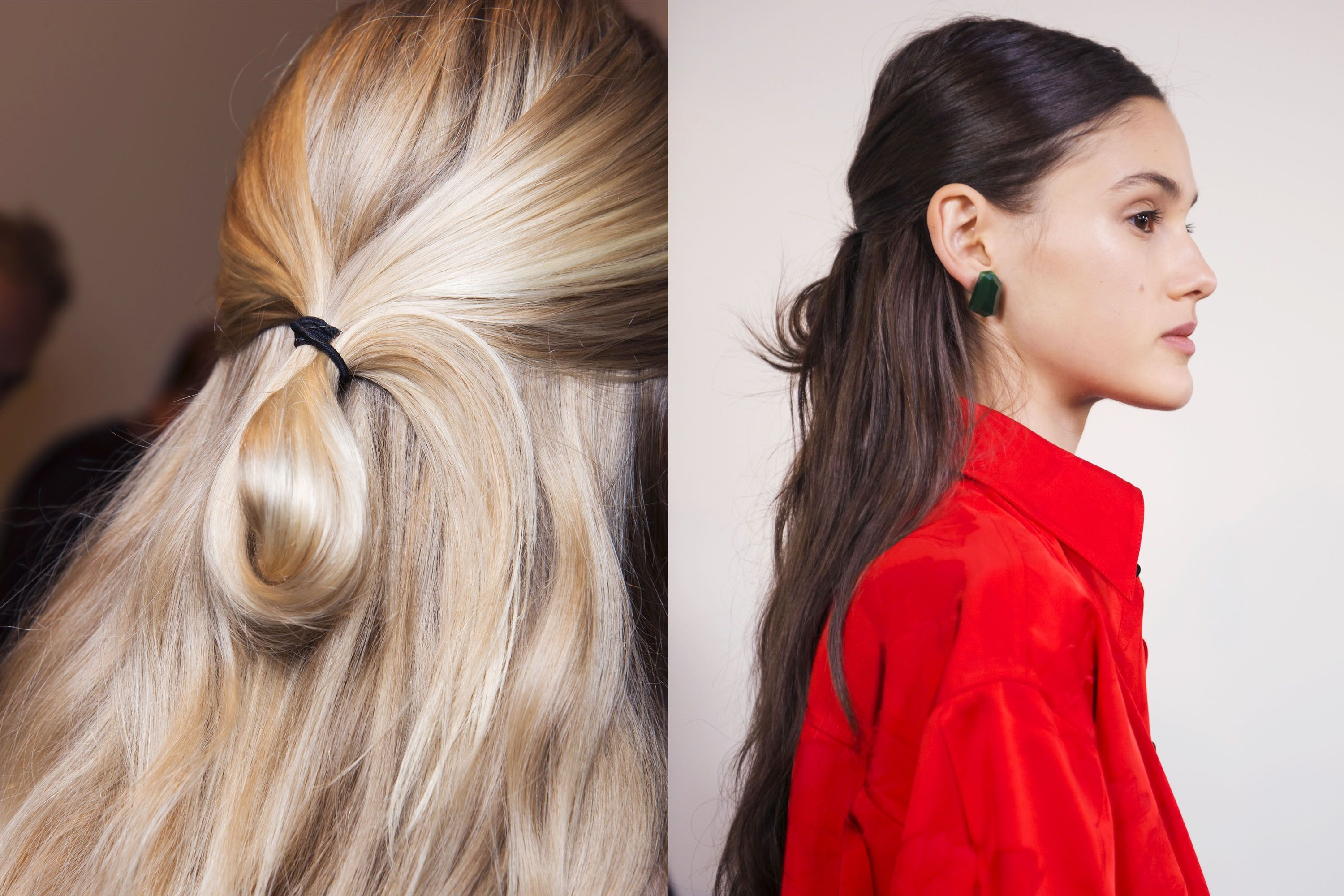 Well Known Sculptural Punky Ponytail Hairstyles For Spring Hair Trends 2018 – Spring And Summer Hairstyles From Nyfw Runway (View 18 of 20)