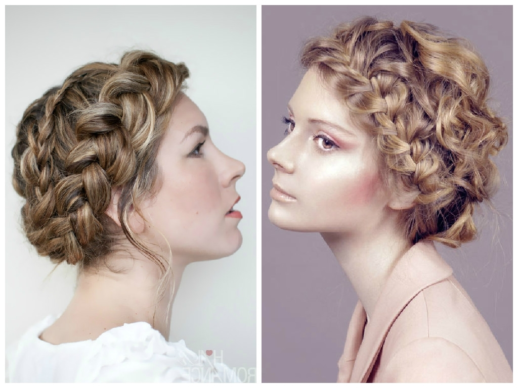 Well Known Wavy Side Ponytails With A Crown Braid Regarding The Best Crown Braid Hairstyle Ideas – Hair World Magazine (View 19 of 20)