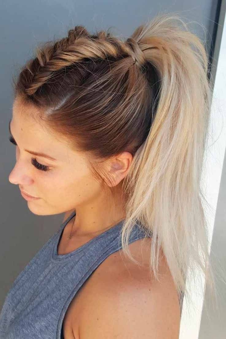 Widely Used Beautifully Braided Ponytail Hairstyles Throughout 5 Beautiful Braided Ponytail Hairstyles (View 20 of 20)